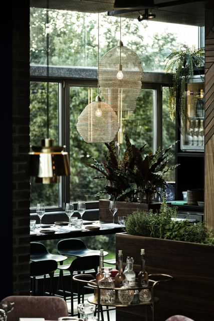 Luxe restaurant in Utrecht
