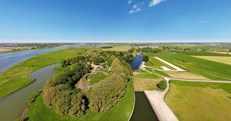 Fort Honswijk Wandeling Waterlinie
